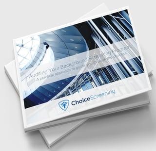 Auditing Your Background Screening Program eBook Image FINAL 4-29-19