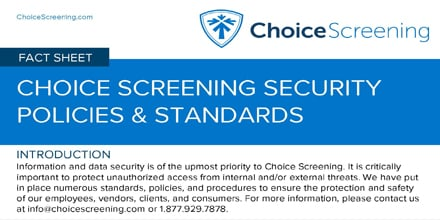 Security Policies and Standards [Fact Sheet]